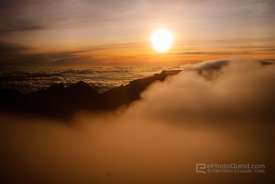 Clouds From Mount Kinabalu