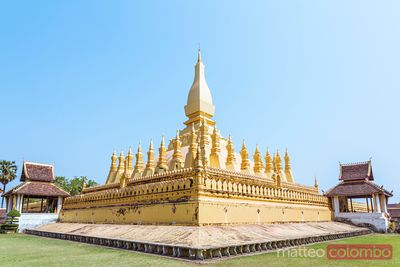 Temple de Pha That Luang, Vientiane, Laos