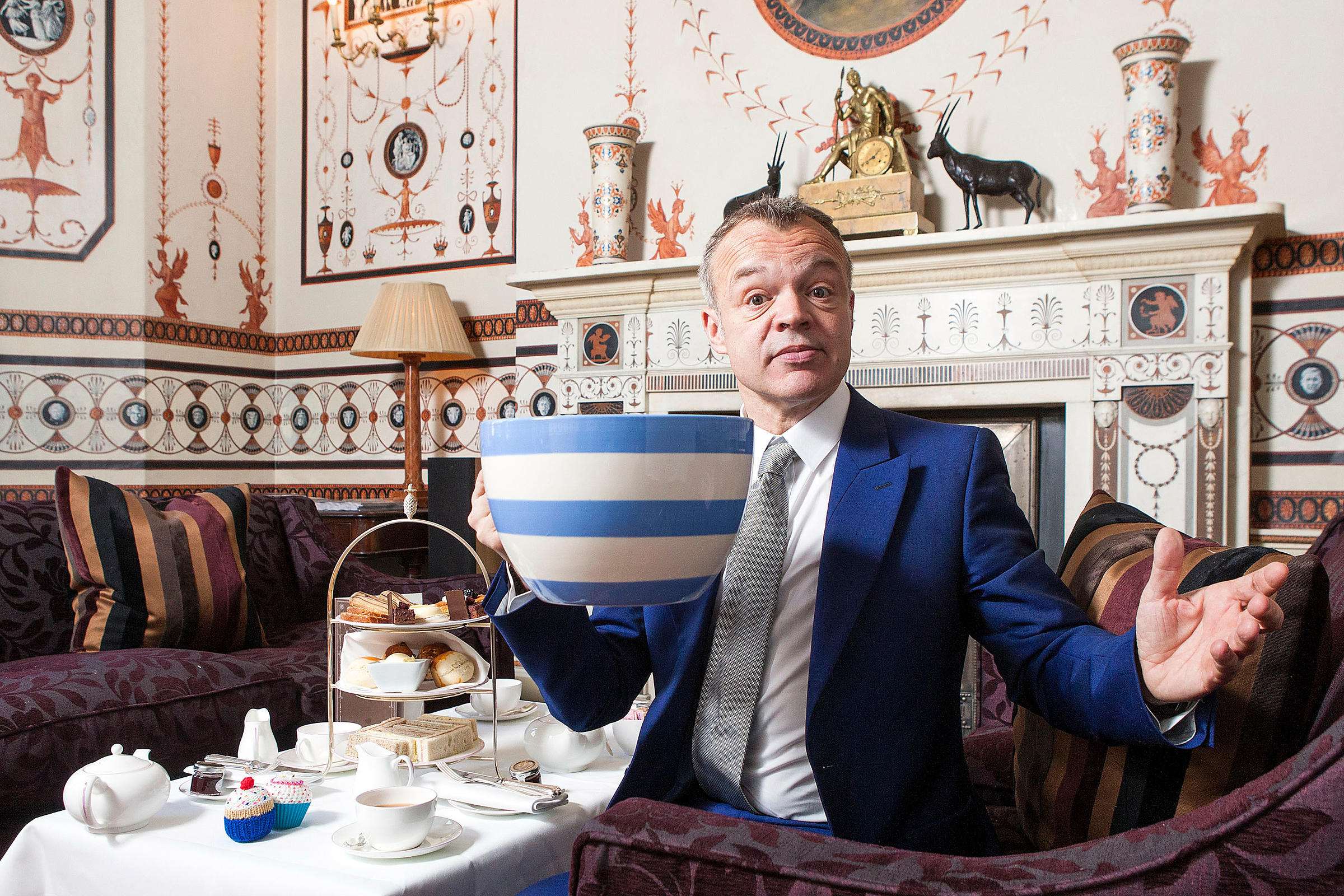 Graham Norton, TV Presenter.