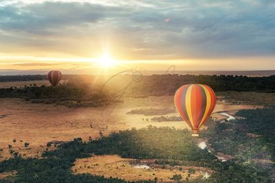 Hot Air Balloon Ride Over Masai Mara