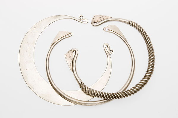 Hill tribe neck rings