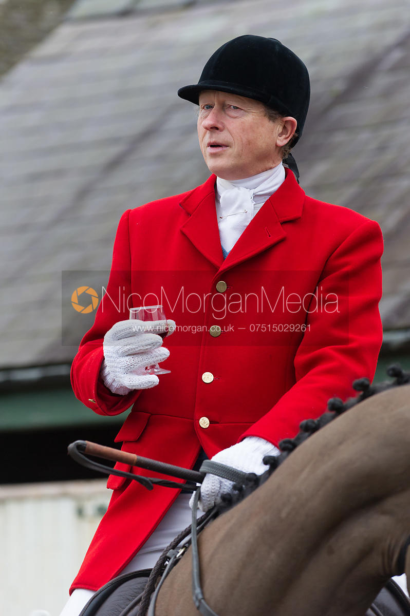 Nicholas Leeming MFH - The Cottesmore Hunt at Northfield Farm 29/1/13