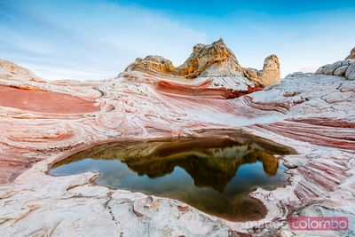 Vermillion cliffs at sunset, Utah, USA