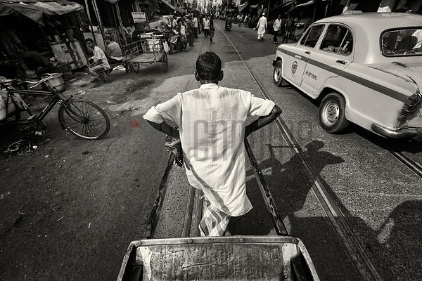 View from the Seat of a Rickshaw