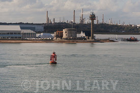Calshot Castle and the Fawley Refinery