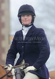Lizzie Harris - Melton Hunt Club Ride 2014