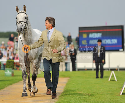 Andrew Nicholson and Avebury - 2nd Inspection - Burghley 2010