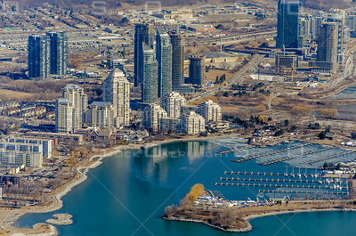 Condominiums at Humber Bay and Etobicoke Point Toronto Waterfront