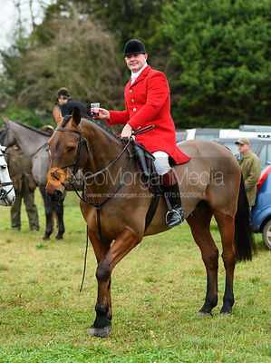 Tim Rose At the meet. The Holderness Hunt visit The Essex and Suffolk