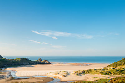 Three Cliffs Bay, Gower Peninsula - BP3621