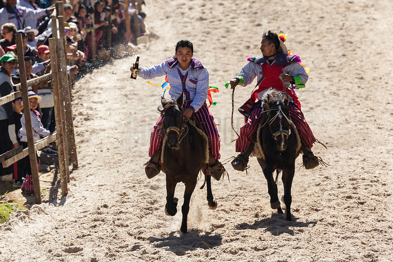 Day of the Dead Horse Race at Todos Santos Cuchumatanes