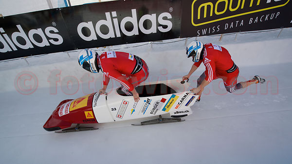 FIBT Bob World Cup in Olympia Bob Run in St. Moritz