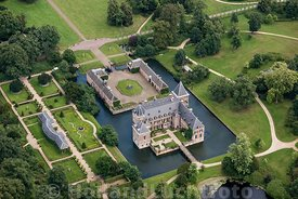 Delden - Luchtfoto kasteel Twickel 02