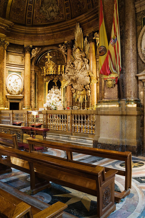 Shrine to Nuestra Senora del Pilar Zaragoza Aragon Spain