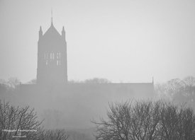 Mist upon the Church of Mossley