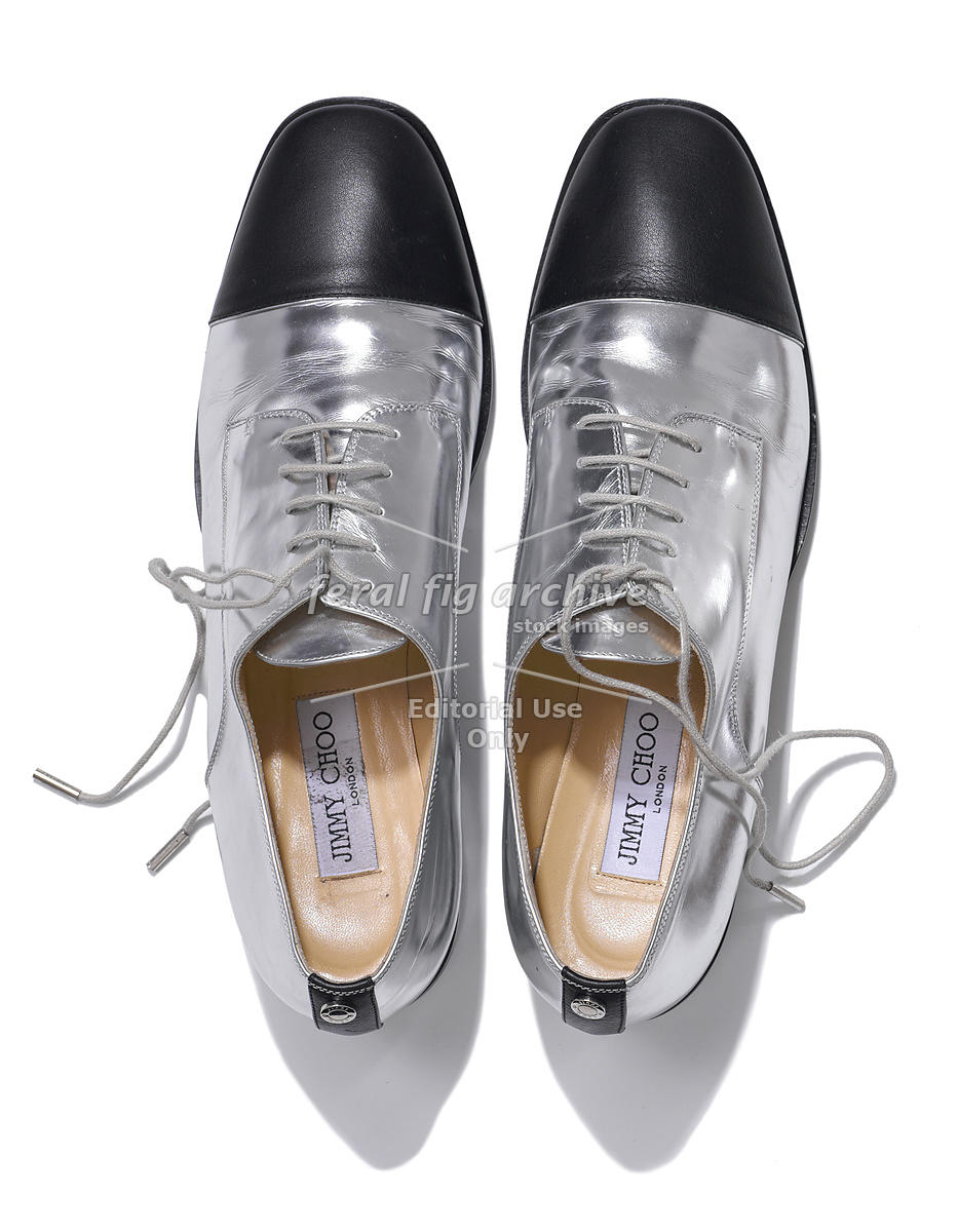 0cf264f9227 FERAL FIG ARCHIVE | Flats shoes by Jimmy Choo, Editorial stock photo ...