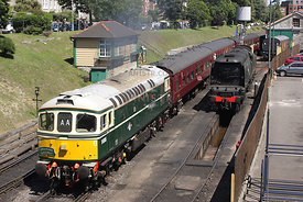 (Class 33) D6515  Swanage