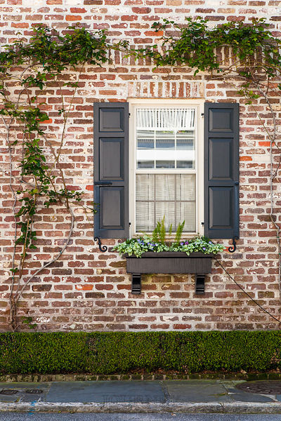 Charleston Brick Window