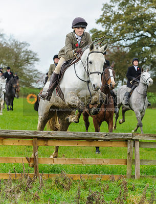 Isobel McEuen - The Cottesmore Hunt at Tilton on the Hill, 9-11-13