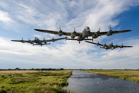 Dambusters practising low level flying