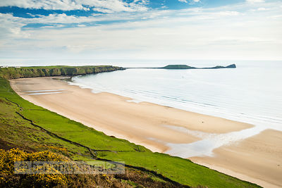 Worms Head at Rhossili Bay - BP3605