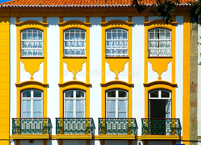 Historical center of Angra do Heroísmo, a UNESCO World Heritage Site. Terceira, Azores islands, Portugal