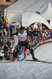 Dario Cologna an der Tour de Ski in Mustair