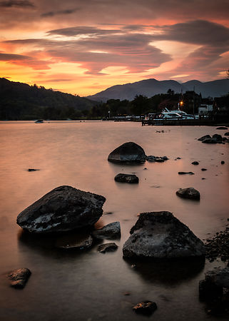 Dusk over Ambleside