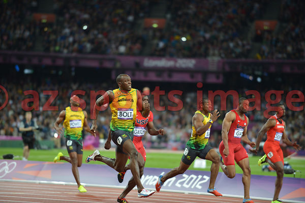 Men's 100m Final | Usain BOLT (JAM)