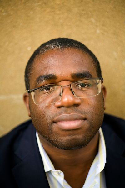 UK - London - David Lammy MP