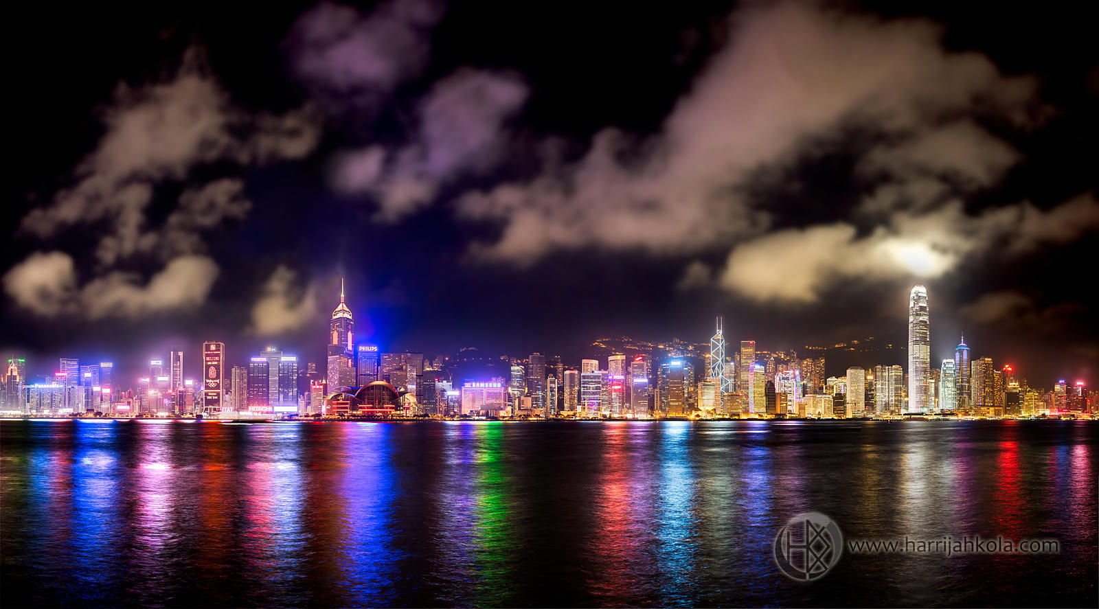 Hong Kong (Cityscape At Night)