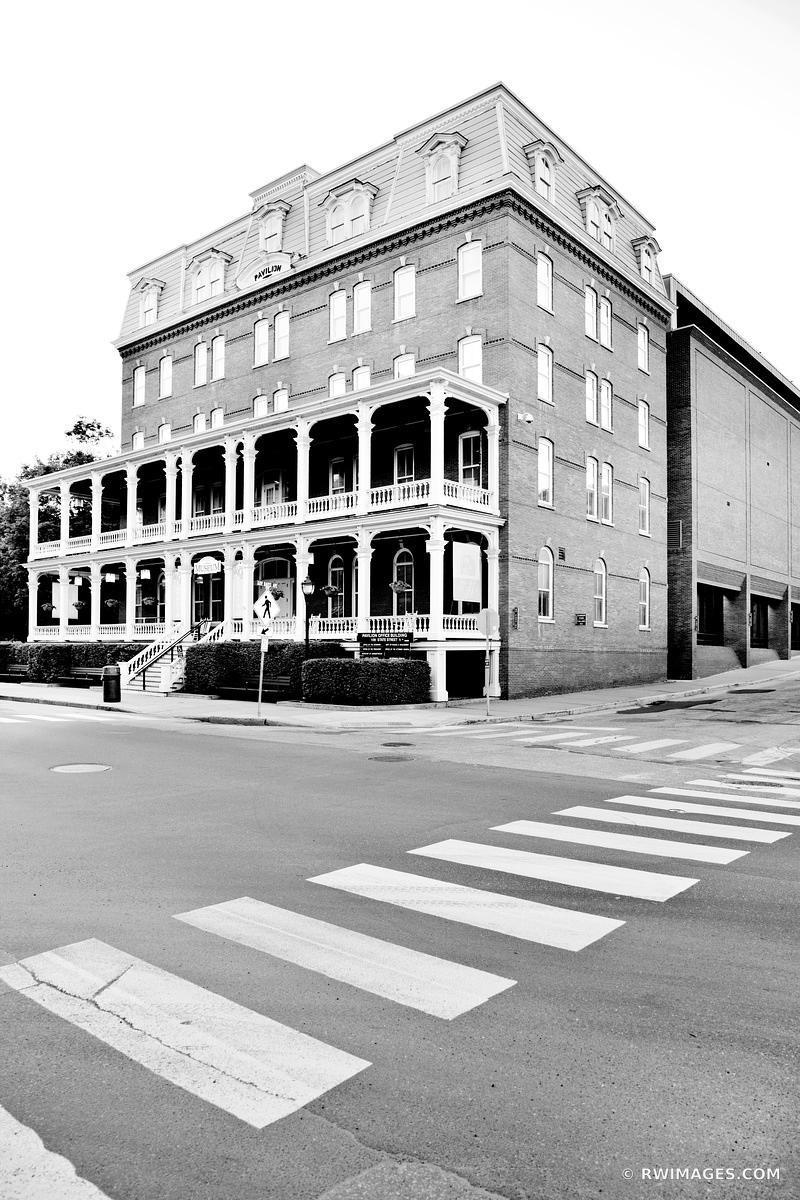 VERMONT HISTORICAL SOCIETY MUSEUM DOWNTOWN MONTPELIER VERMONT BLACK AND WHITE