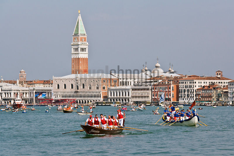 The Vogalonga (Boat Race) between the Maritime Regions of Italy, Venice, Italy