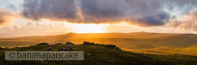 BP6276 - Sunset from Fur Tor, Dartmoor
