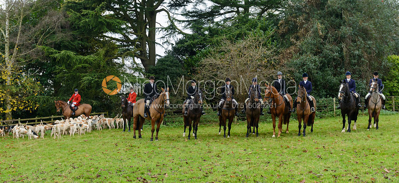 The Cottesmore Hunt at Hambleton