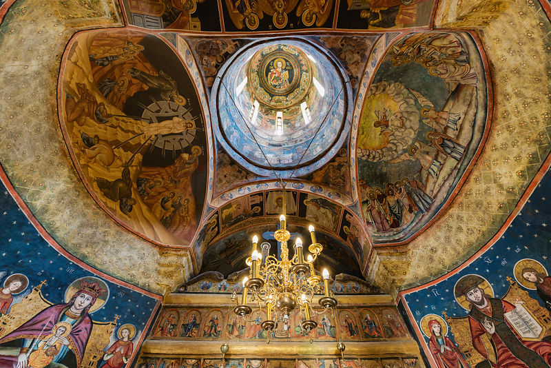 The New Church of the Dormition of the Holy Virgin Mary, Sinaia Monastery
