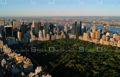 Manhattan's Central Park Looking Southwest