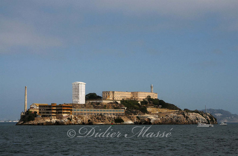 La prison d'Alcatraz San Francisco Californie USA 10/12