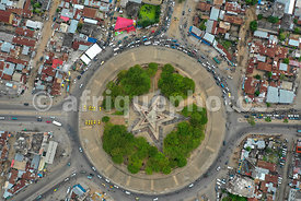 Cotonou from above