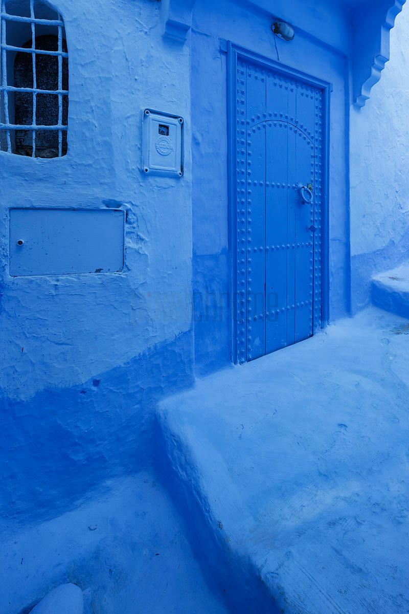 Blue Door in the Blue City