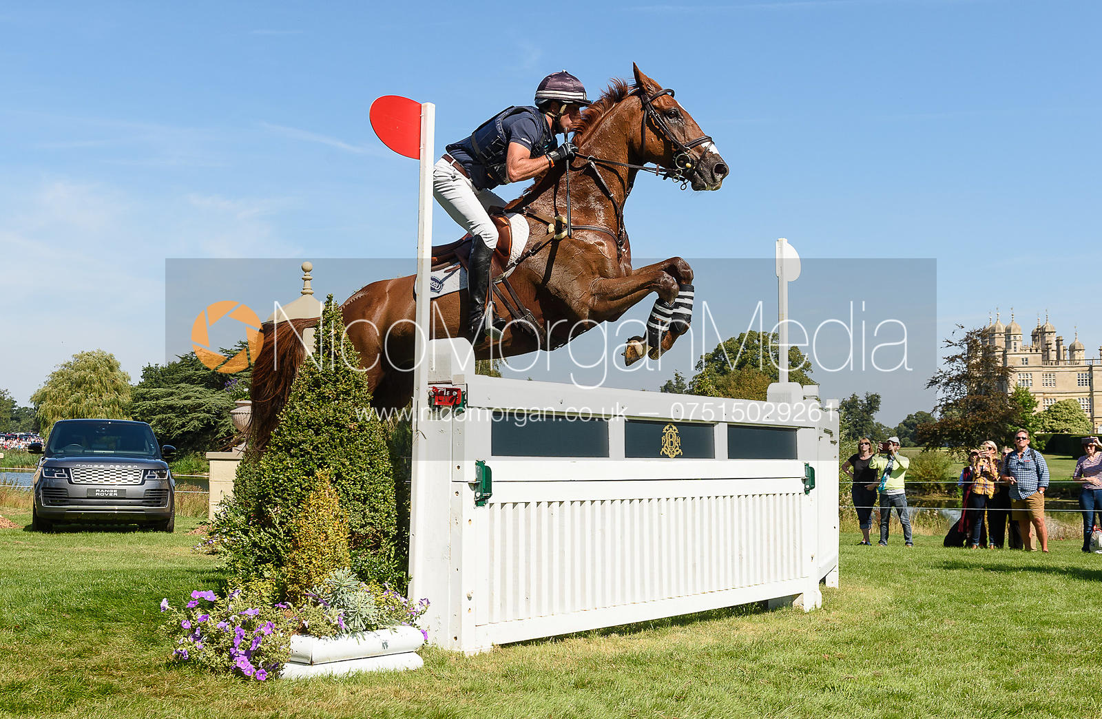 Tim Price and BANGO, cross country phase, Land Rover Burghley Horse Trials 2018