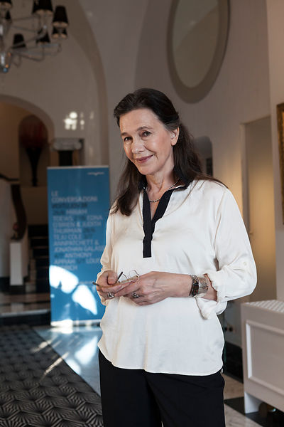 Louise Erdrich at Le Conversazioni (The Conversations) in Capri, Italy.
