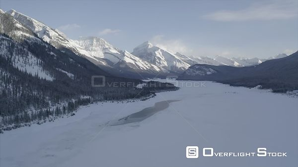 Canadian Rockies in Winter BC Canada