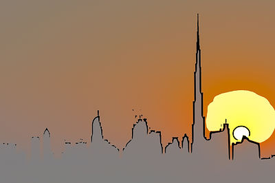 Dubai Sunset 2