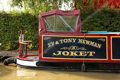 Eva and Tony Newman Narrowboat Joket