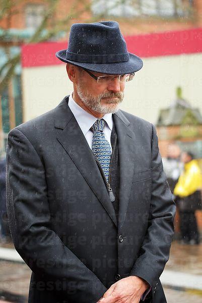 3238bcad Prestige Stock Photo Man Wearing a Trilby Hat in Richard III ...