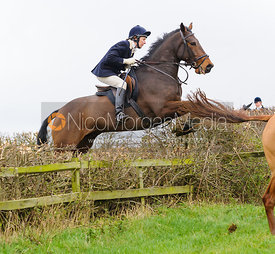 Jumping at Stone Lodge Farm - The Cottesmore Hunt at Tilton on the Hill, 9-11-13