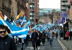 All Under One Banner Independence March, Glasgow, Saturday 4th May 2019