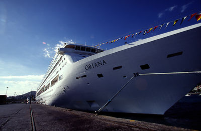 The P&O Cruise Liner Oriana