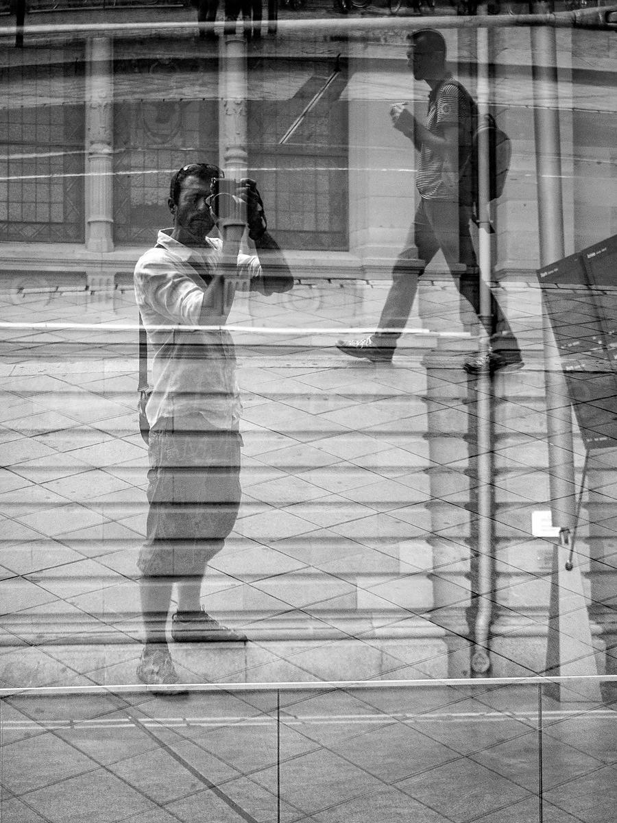 Street Photo - Self portrait